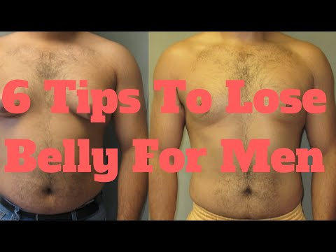 6 Tips To Lose Belly For Men