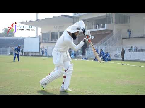 Before Match Start Misbah Ul Haq Batting Practice