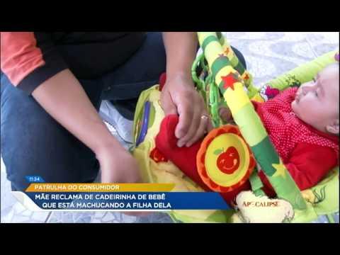 Patrulha Do Consumidor: Mãe Reclama De Cadeirinha De Bebê Que Machuca A Filha De Três Meses
