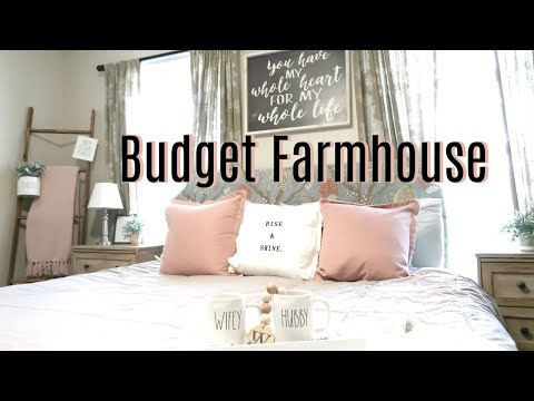 Clean and Decorate With Me 2019 | Farmhouse Master Bedroom Makeover