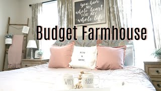 Clean and Decorate With Me 2019   Farmhouse Master Bedroom Makeover