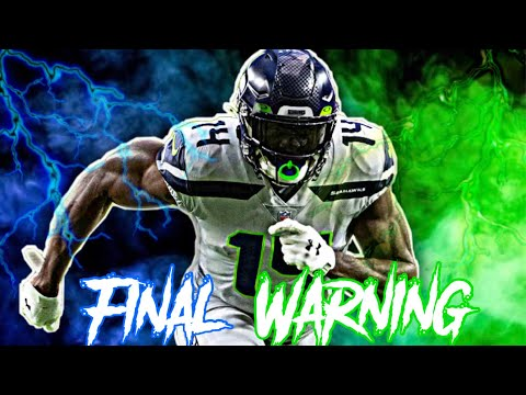"D.K. Metcalf NFL Mix | NLE Choppa ""Final Warning"" 🔥"