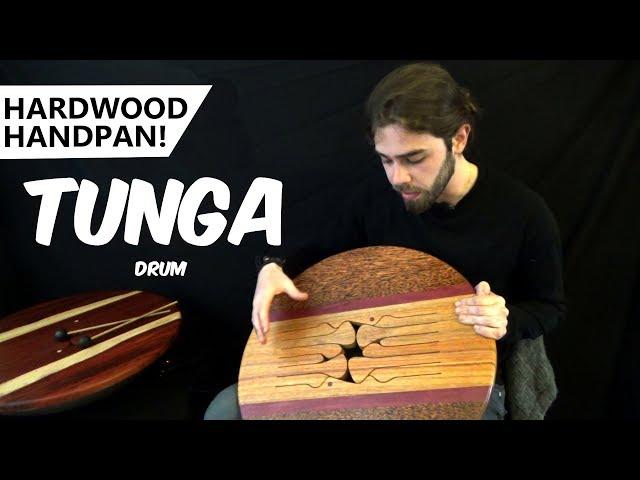 Hardwood Handpan™ Demo - TUNGA