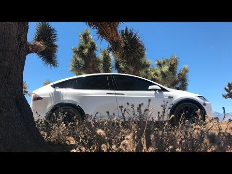 tesla model x p100d ludacris off road review
