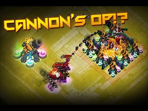 Castle Clash: Cannon Towers VS Wretched Gorge IV ❚ WG-4 SOLO F2P
