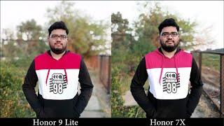 Honor 9 Lite vs Honor 7X Camera Comparison
