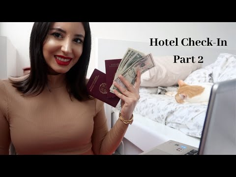 ASMR | Greek Hotel Check-In Role Play *Part 2*