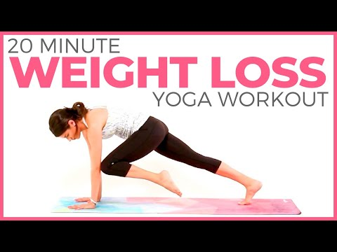 20 minute Yoga for WEIGHT LOSS | Fat Burning Yoga Workout