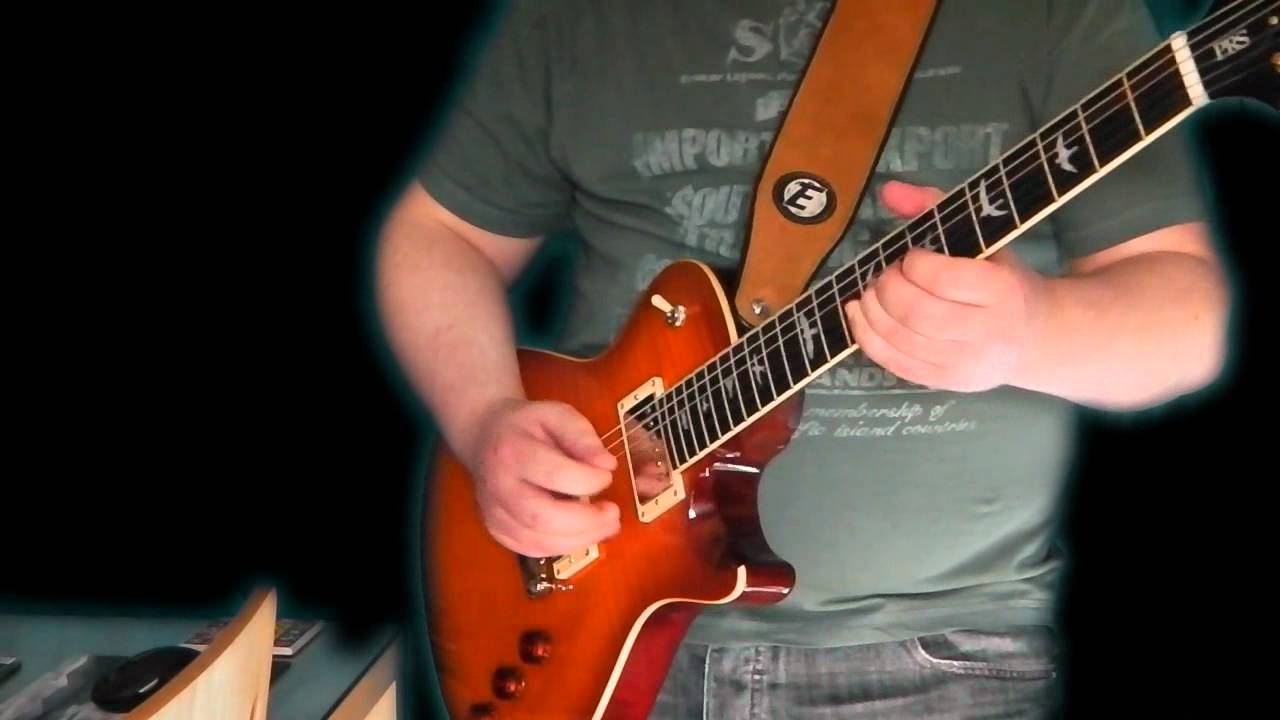 hight resolution of prs se bernie marsden with bare knuckle the mule pickups quick jam