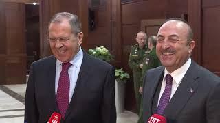 С.Лавров и М.Чавушоглу