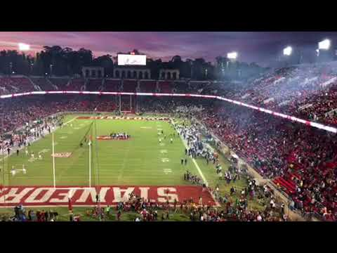 2017 Cal Stanford Big Game: California Ties Stanford With 6:16 Left 1st Quarter