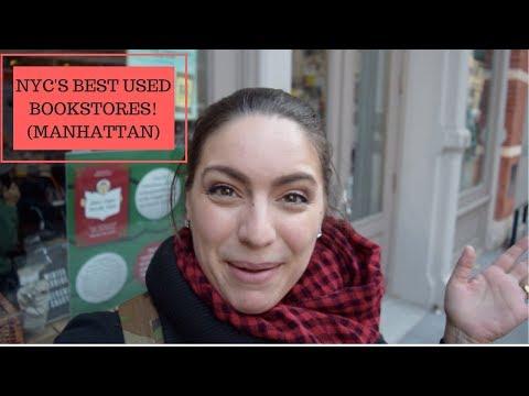 NYC BEST USED BOOKSTORES! (Manhattan)