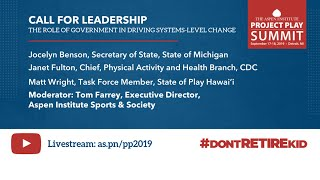 Call for Leadership: The Role of Government in Driving Systems - Level Change