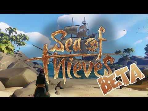 SEA OF THIEVES BETA  | SINKING SHIPS & KILLING ENEMIES !
