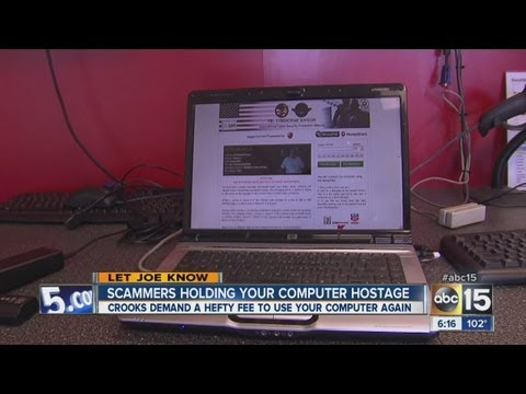 Scammers holding your computer hostage