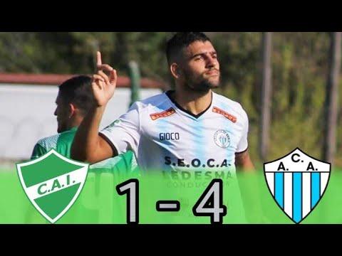 Primera C : ITUZAINGÓ 1 - 4 ARGENTINO DE MERLO | (Los Goles)