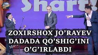 Download Zoxirshox Jo`rayev DADADA qo`shig`ini o`g`irlabdi Mp3 and Videos