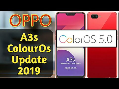 OPPO A3s 5 2 ColourOs Update  Oppo a3s New Version