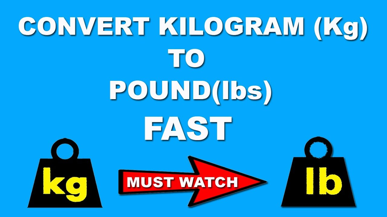 Fast maths trick to convert kg to pound in a few seconds in mind fast maths trick to convert kg to pound in a few seconds in mind hindi nvjuhfo Choice Image