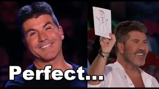 10 *SIMON COWEL BEST* MOMENTS On AGT and BGT!