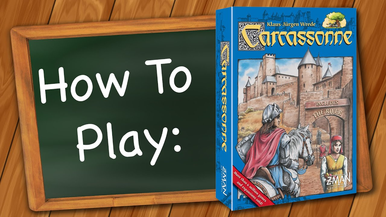 How To Play Carcassonne Youtube