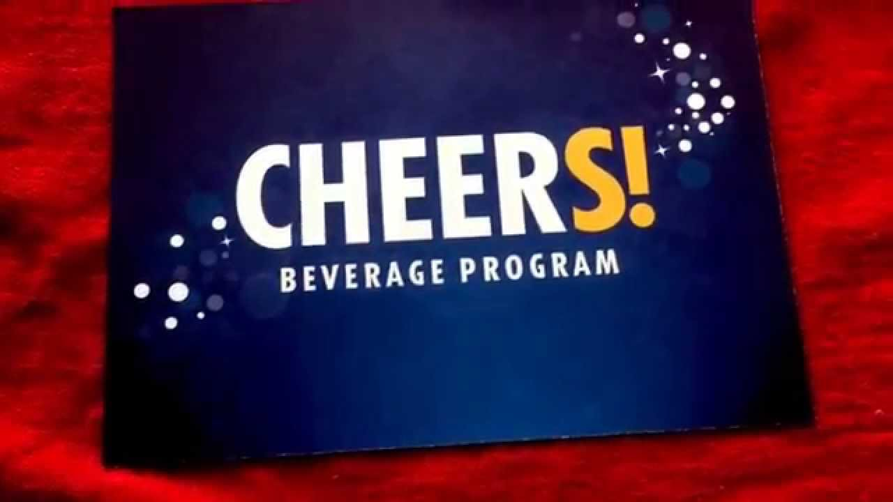 Carnival Cheers Program /All You Can Drink Package ...