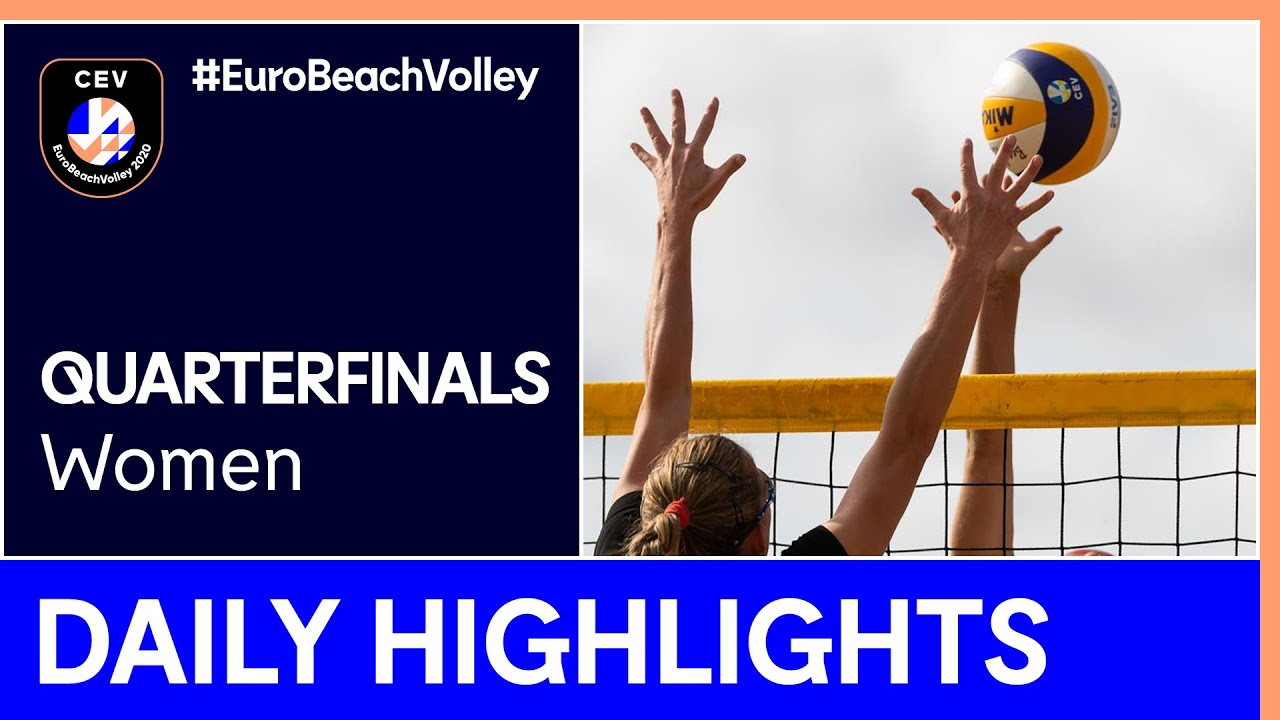Women Beach Volleyball Day 4 Highlights - #EuroBeachVolley 2020