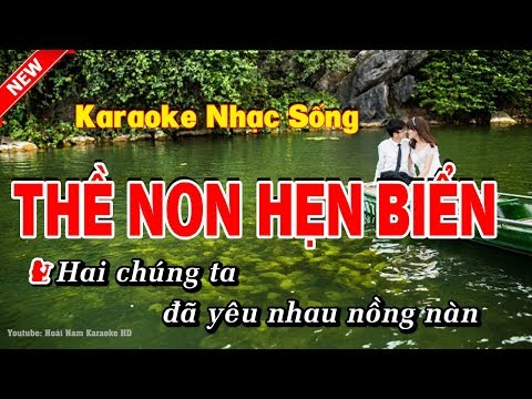 Karaoke Thề Non Hẹn Biển TD ft VL
