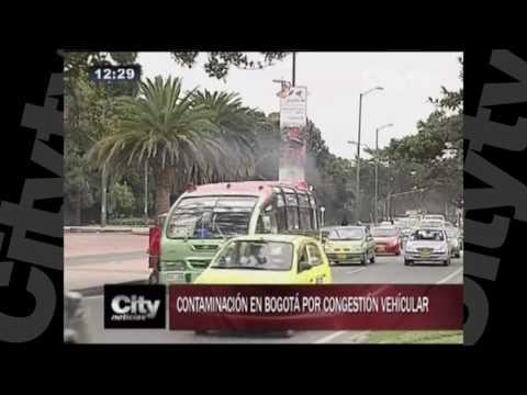 Contaminación en Bogotá por congestión vehicular l City TV  l Agosto 31