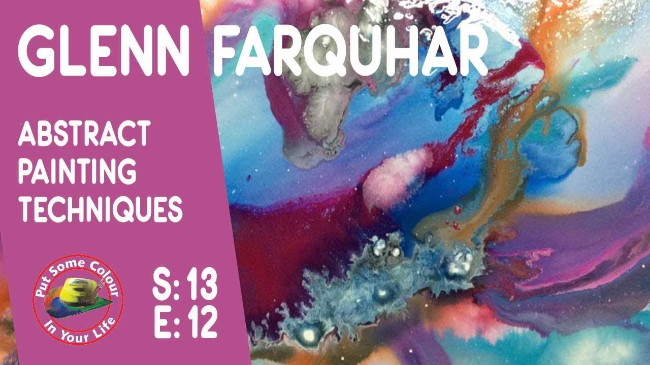 Acrylic Painting With Glenn Farquhar On Colour In Your