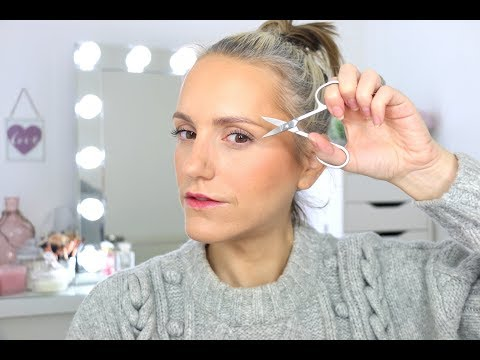 HOW TO... Trim Your Brows