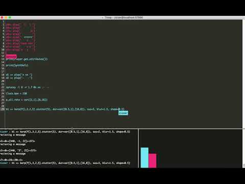 Neural Jam - Live Coding with FoxDot + Magenta.js