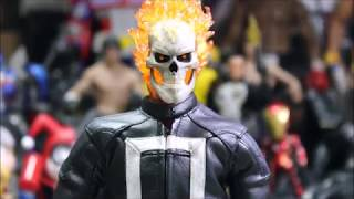 """[Unusual Unboxing ] Hot Toys- AOS 1/6th  Scale """"Ghost Rider"""""""