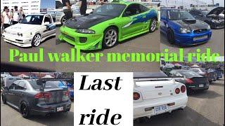 Gambar cover 2019 Paul Walker Memorial Ride, LAST Goodbye!!!