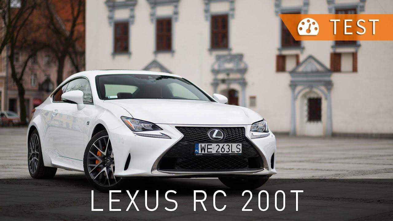 lexus rc 200t f sport 2016 test pl review eng sub project automotive youtube. Black Bedroom Furniture Sets. Home Design Ideas