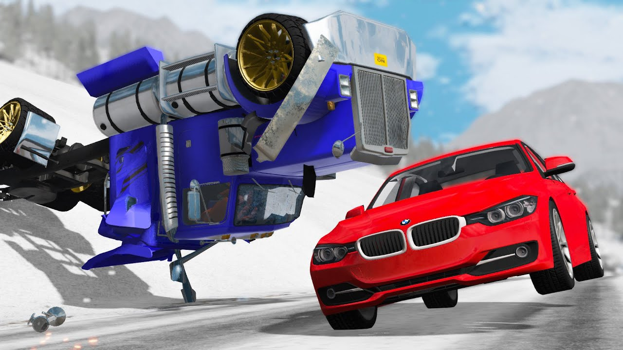 Extreme Car Crashes Compilation #199 - BeamNG Drive | CRASHdriven