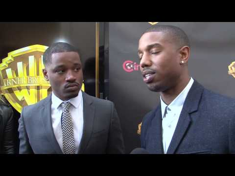 Creed: Ryan Coogler and Michael B Jordan Exclusive CinemaCon Interview (2015)