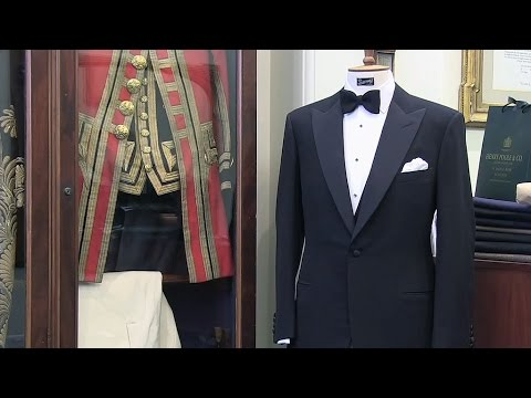 London: Savile Row, Mecca of British Masculine Elegance