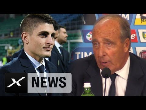 "Giampiero Ventura: ""Marco Verratti ist ein Juwel"" I Italien - Albanien I WM-Qualifikation"