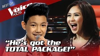 13-Year-Old became an INSTANT FAVORITE with this Blind Audition!