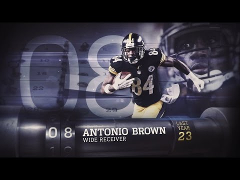 #8 Antonio Brown (WR, Steelers) | Top 100 Players of 2015