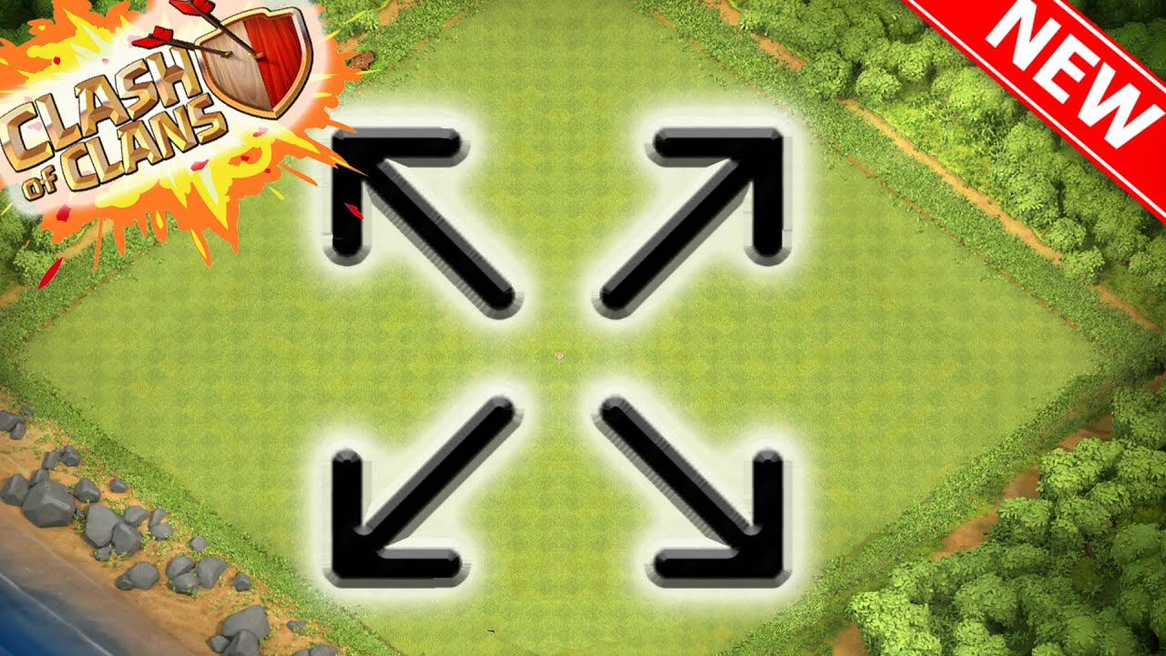 Larger Map Size Clash of Clans Town Hall 11