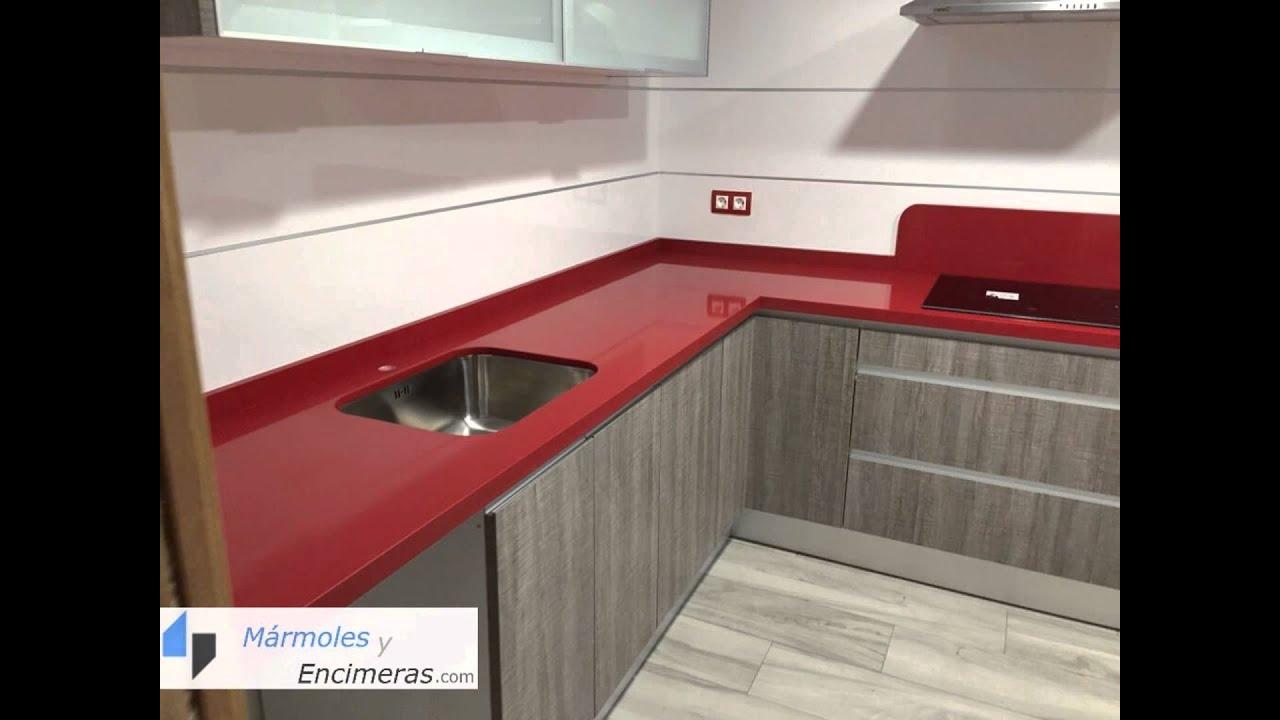 Marmolista Alicante - Encimera de Cocina instalada en Alicante - YouTube