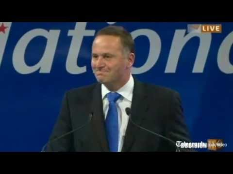 John Key Re-elected As New Zealand's Prime Minister