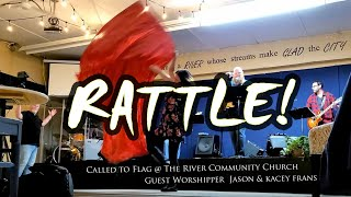 Worship Moment with Flags // RATTLE!  Elevation W 2021 // Flagging Dance ft: Claire CALLED TO FLAG