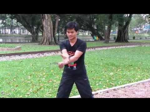 Côn Nhị Khúc cơ bản | www.bmdshop.vn | 0973999717 | Hướng dẫn tập luyện côn nhị khúc
