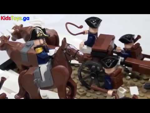 Joker Channel - LEGO Noble Train Of Artillery Knox Expedition American Re Utionary War 1776
