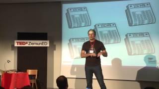 Motivacijom i istrajnošću do velikih uspeha | Srđan Erceg | TEDxZemunED