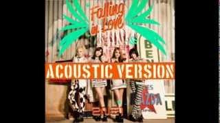 2NE1-Falling In Love (Acoustic Version) Audio