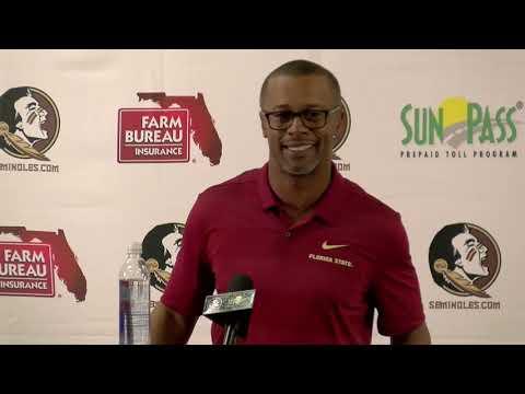 Florida State Seminoles head football coach Willie Taggart on Florida Week